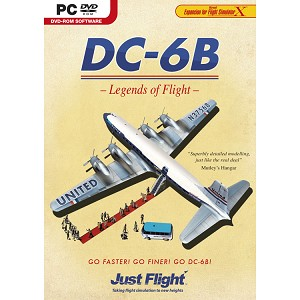 DC-6B Legends of Flight
