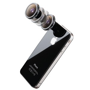Digital King 180 Degree Fish-Eye Conversion Lens with Magnet Mount for iPhone 4/4s/5/5s/5c