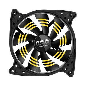 Sharkoon Shark Blades 120 x 120 x 25 mm (Yellow)