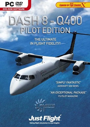 Dash 8 Q400 Pilot Edition for FSX