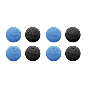 Grip-iT Analog Stick Covers for Xbox 360, Xbox One, PS3 and PS4, 8 Pack