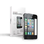 TekNmotion Real Glass Screen Shield for iPhone 4/4S (Black)