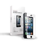 Teknmotion Real Glass Screen Shield for iPhone 5 & 5S (White)