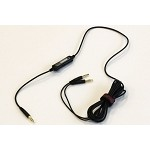 TekNmotion Headsetter - Headphones to Headset Cable