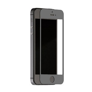 TekNmotion Real Glass Screen Shield for iPhone 5 & 5S (Grey)