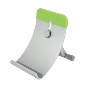 TekNmotion Tablet Mate Aluminum Device Stand for iPad, iPhone, Tablets, & Smartphones (Green)