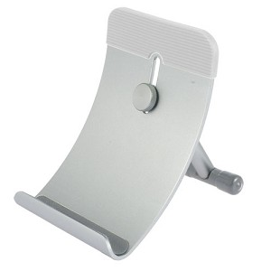 TekNmotion Tablet Mate Aluminum Device Stand for iPad, iPhone, Tablets, & Smartphones (Grey)