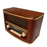 Wolverine Retro Bluetooth Speaker & AM/FM Radio Combo